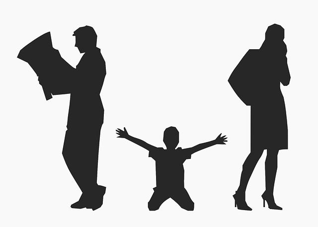 rozchod rodičů